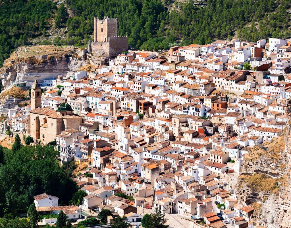 Vistas casco antiguo Alcalá del Júcar